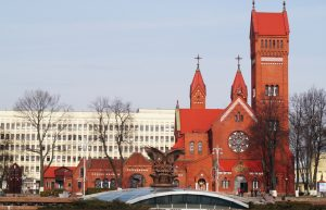 Church in the Gomel city (Belarus)