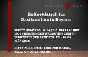 Kaffeeklatsch München Aktuelle Projekte
