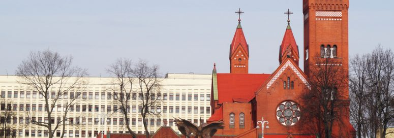 Church in the Gomel city (Belarus)