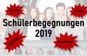 Schülerbegegnungen 2019