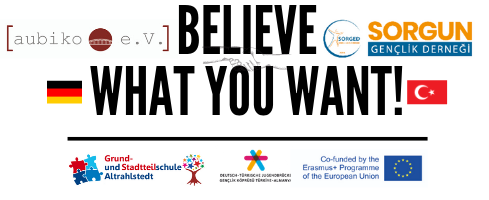 Logo-Believe what you want in HH